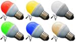 Voordeelset: 10x Gekleurde Lamp Extra Sterk Set van 5 Kleuren