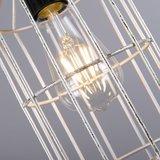 Hanglamp Frame Luxe D zilver detail