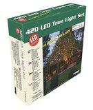 Boomverlichting set - 63 meter met 420 lampen - Warm wit doos