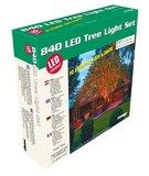 Boomverlichting grote set - 2x 63 meter met 420 lampen - Warm wit doos