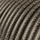 strijkijzersnoer grijs glitter ingezoomd