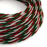strijkijzersnoer italiaanse vlag rol