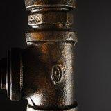 Hanglamp | Brandweer Zwart/Goud E27 ingezoomd 2