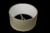 Tafellamp Halfball Teak Onbehandeld 40x40x24Cm Lampenkap