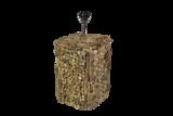 Tafellamp Driftwood Vierkant 20x20x40cm