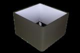 Lampenkap Vierkant Antraciet 25x25x20cm