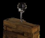 Tafellamp Hout Teak Bata 49Cm