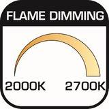 LED Spot AR70 6W 2000-2700K 24° GU10 Dimbaar