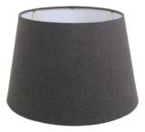 Lampenkap Rond Conisch Grijs 33x25x21