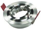 Led inbouw spot armatuur - aluminium rond - richtbaar V2_