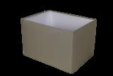 Lampenkap Rechthoek Zandkleur 45x35x30cm HSM