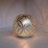 Tafellamp Ball Circles Small Silver