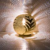 Ball Leaf Small Gold Zenza Tafellamp