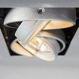 Led inbouw spot armatuur voor 2 AR111 spots by QAZQA Oneon 111-2 details