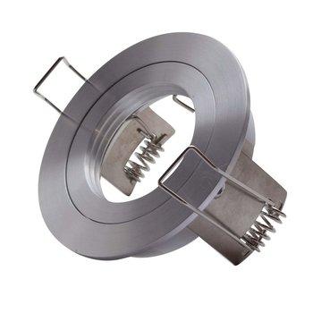 Led inbouw spot armatuur - aluminium rond ECO