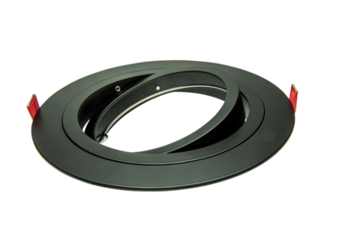 Led inbouw spot armatuur - 1x AR111/ES111 Zwart | Richtbaar