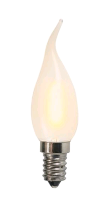 LED Filament Kaarslamp E14 1W 2200K Matt - KLEIN