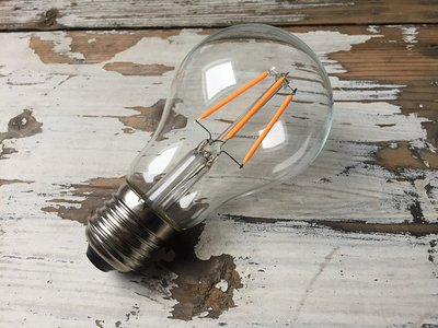 LED Filament Lamp E27 2W 2200K Helder | Dimbaar
