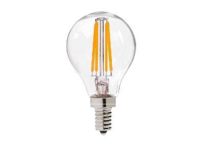 LED Filament kleine bol E14 4W 2700K Helder (G45)