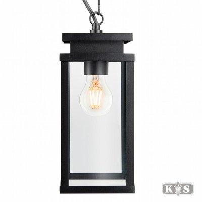 Kettinglamp / Hanglamp Jersey Zwart