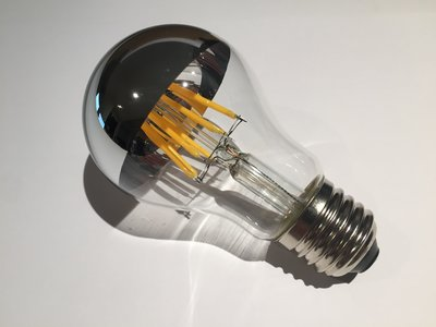 LED Filament Kopspiegellamp 8W 2700K (A60)
