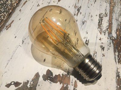 Dimbare led lamp E27 4W 2200K GOLD (A60)