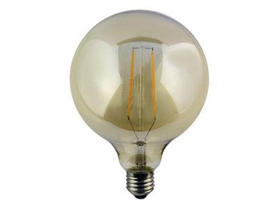 LED globe grote bol E27 4W 2200K GOLD (G125)