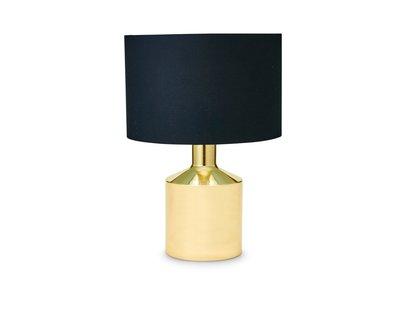 Schemerlamp Goud Zwart 58cm