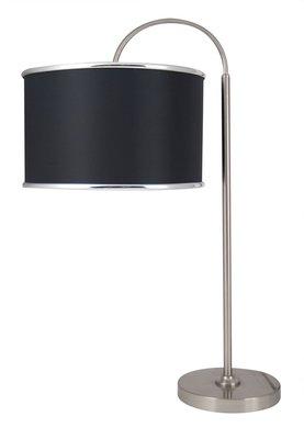 Schemerlamp Boog Zwart 66cm