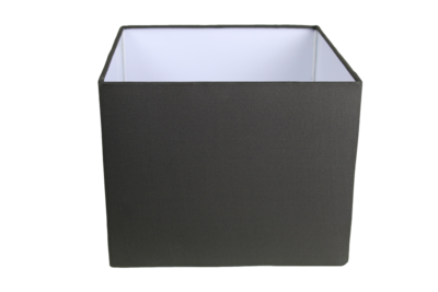 Lampenkap Vierkant Antraciet 25x25x20cm HSM