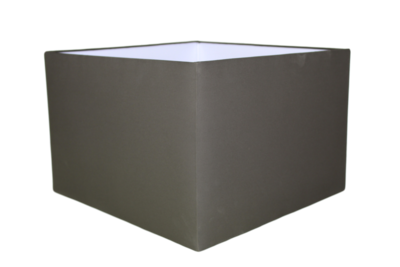 Lampenkap Vierkant Antraciet 45x45x30Cm HSM
