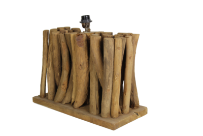 Tafellamp Hout Forest 50Cm HSM