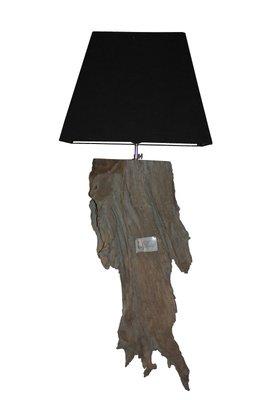 Wandlamp Root Excl. kap  Grey Teak
