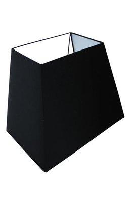 Lampenkap Rechthoekig Zwart 39x25x30Cm HSM