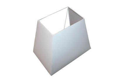 Lampenkap Rechthoekig Creme 39x25x30Cm HSM