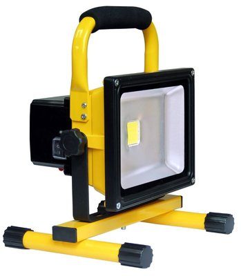 LED Floodlight Bouwlamp op Accu 20W
