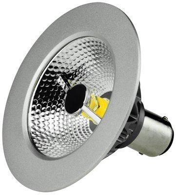 LED Spot AR70 7W 3000K 36° B15 (bayonet) incl. Driver Dimbaar