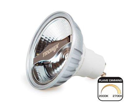 LED Spot AR70 6W 2000-2700K Tunable 24° GU10 Dimbaar