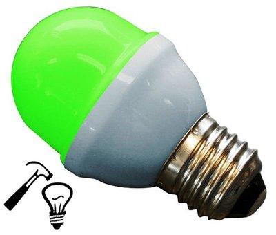 LED Lamp Deco Kleine Bol 1W G45 Groen Extra Sterk