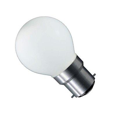 LED Filament kleine bol B22 (bajonet) 1W Mat Wit