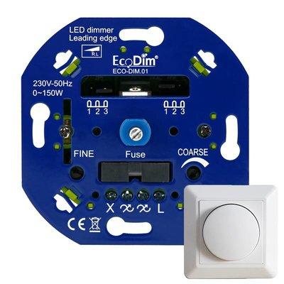 ECODIM LED Dimmer 0-150 Watt | Fase Aansnijding