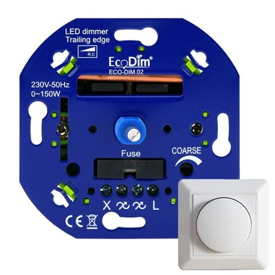 LED Dimmer 0-150 Watt | Fase Afsnijding