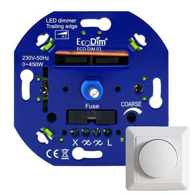ECODIM LED Dimmer 0-450 Watt | Fase Afsnijding