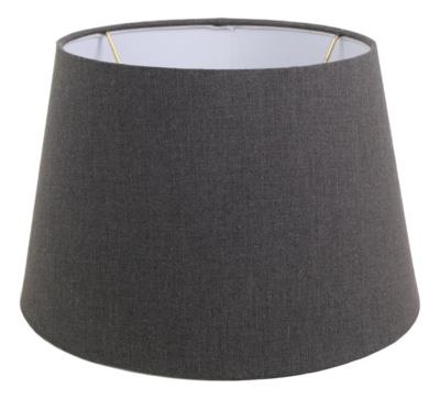Lampenkap Rond Conisch Grijs Middel 33x25x21