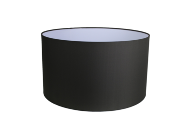 Lampenkap Rond Antraciet Groot 50x50x28