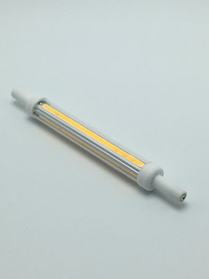 R7S Led Lamp 118mm Extra Dun (12mm) 9W | 2700K | Dimbaar