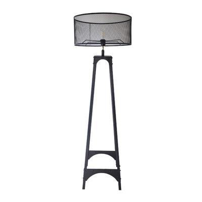 Vloerlamp Gladiator Klinknagels 163Cm | Luxe Kap