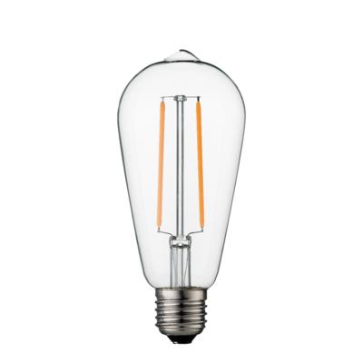 Dimbare led lamp E27 2W 2700K HELDER (ST64)