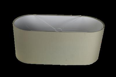 Lampenkap Ovaal Zandkleur Groot 60x25x25 HSM