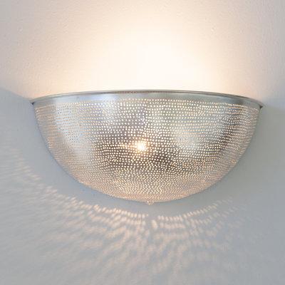 Wandlamp Ball Filisky Silver